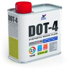 DOT-4 - Sintētiskais bremžu šķidrums