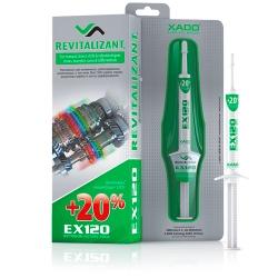 XADO Revitalizants EX120 pārnesumkārbām un reduktoriem